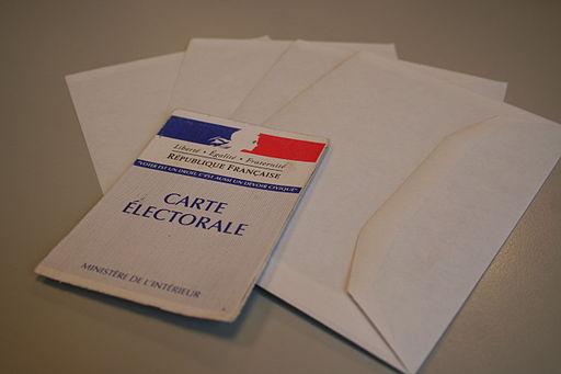 Carte électorale République française