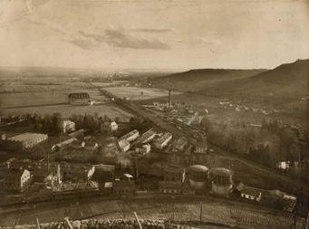 Usine à gaz vers 1930
