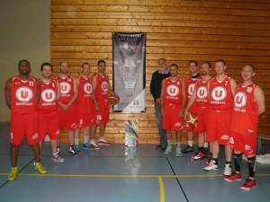 L'équipe de basketteurs de l'ASLG