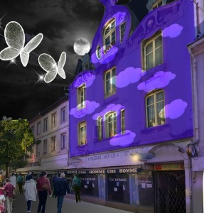 Illumination Noël Bleu 2015