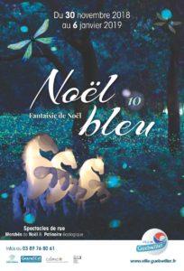 Noel bleu à Guebwiller